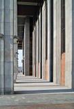 Rythme des lignes architecturales. Photo libre de droits