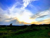Rythme des nuages photos stock