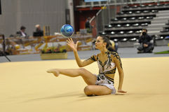 Rythmic gymnastic Royalty Free Stock Images