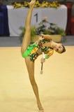 Rythmic gymnastic Alina Makarenko, Russia Royalty Free Stock Image