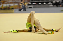 Rythmic gymnastic, Anna Turbnikova Stock Image