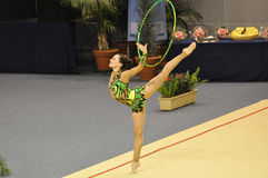 Rythmic gymnastic Irena Risenson Israël Stock Photography