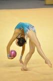 Rythmic gymnastic Irena Risenson, Israël Stock Images