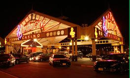 Rythmn City Casino, Davenport, Iowa Royalty Free Stock Image