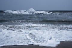 Rytm av havvågor arkivfoton