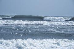 Rytm av havvågor royaltyfri bild