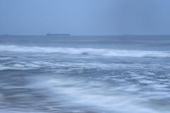 Rytm av havvågor fotografering för bildbyråer
