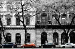 Rytm i kontrast w Budapest Zdjęcia Royalty Free