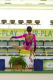 rytmiczne gimnastyczny Obrazy Royalty Free