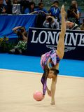 rytmiczne gimnastyczny Zdjęcie Stock