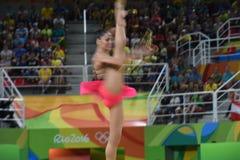 rytmiczne gimnastyka obraz stock