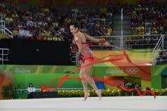 rytmiczne gimnastyka zdjęcie royalty free