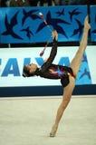 rytmiczne gimnastyka fotografia stock