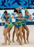 rytmiczne gimnastyka zdjęcia stock