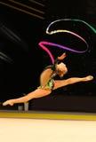 Rytmiczne gimnastyki Uroczysty Prix w Kijów, Ukraina obraz stock