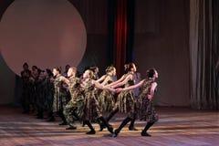 Rytmiczni ruchy taniec obrazy stock