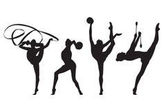 Rytmiczny gimnastyczny Obrazy Stock