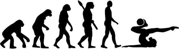 Rytmicznych gimnastyk ewolucja z piłką ilustracji