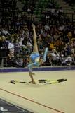 rytmisk gymnastikitalienare Arkivbild