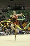 rytmisk gymnastikitalienare Royaltyfria Bilder