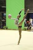 rytmisk gymnastikitalienare Arkivfoto