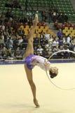 rytmisk mästerskapgymnastikitalienare Royaltyfri Foto