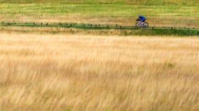 Richmond parkerar London att cykla Royaltyfri Fotografi
