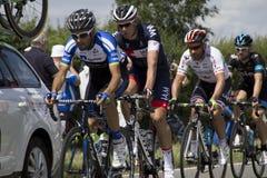 Ryttareetapp 3 Cambridge London för Tour de France 2014 Arkivbild