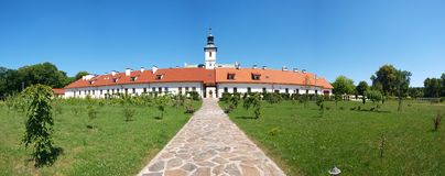 Rytwiany hermitage, Poland Royalty Free Stock Photo