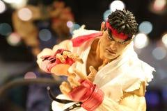 Ryu-Action-Figur Stockfoto
