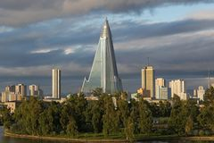 Ryugyong Hotel Royalty Free Stock Photo