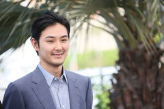 Ryuhei Matsuda attends `Before We Vanish Sanpo Suru Shinryakus Royalty Free Stock Photography