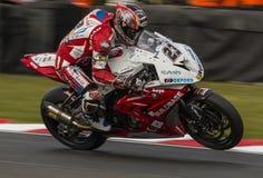Ryuichi Kiyonari - Brytyjski Superbike mistrzostwo Zdjęcie Royalty Free