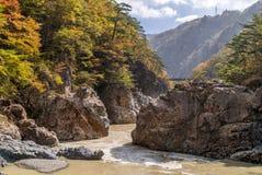 Ryuyo Gorge canyon Nikko Japan Royalty Free Stock Photography