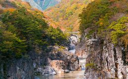 Ryuyo Gorge canyon Nikko Japan Stock Photo