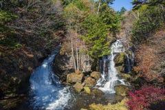 Ryuzu瀑布 库存照片