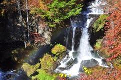 Ryuzu (Dragon Head) Waterfall Royalty Free Stock Photography