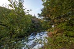 Ryuzu nedgångar, Nikko, Tochigi prefektur, Japan royaltyfri foto