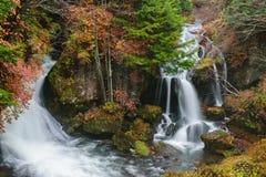 Ryuzu tombe avec l'automne à Nikko Photographie stock libre de droits