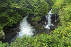 Ryuzu waterfall Stock Photos