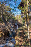 Ryuzu Waterfall at nikko Royalty Free Stock Photo