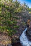 Ryuzu Waterfall at nikko Royalty Free Stock Photography