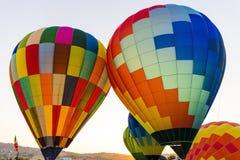 Rywalizacja balony w Włochy Obraz Stock