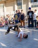 Rywalizacja breakdance Obrazy Royalty Free