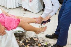 Rywalizacja dla ślubu obrazy stock
