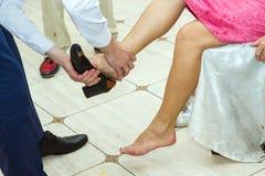 Rywalizacja dla ślubu obrazy royalty free