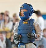 Rywalizacja na kyokushinkai karate Obrazy Stock