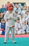 Rywalizacja na kyokushinkai karate Obraz Royalty Free