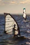 rywalizacja windsurf Obrazy Royalty Free