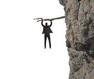 Ryzyko i kryzys Zdjęcia Stock